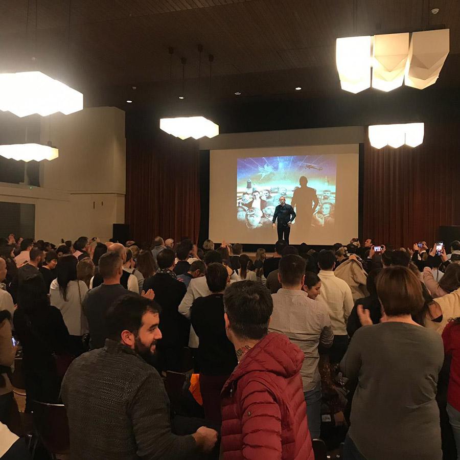 Sunay Akın Zürih Konferansı (10)